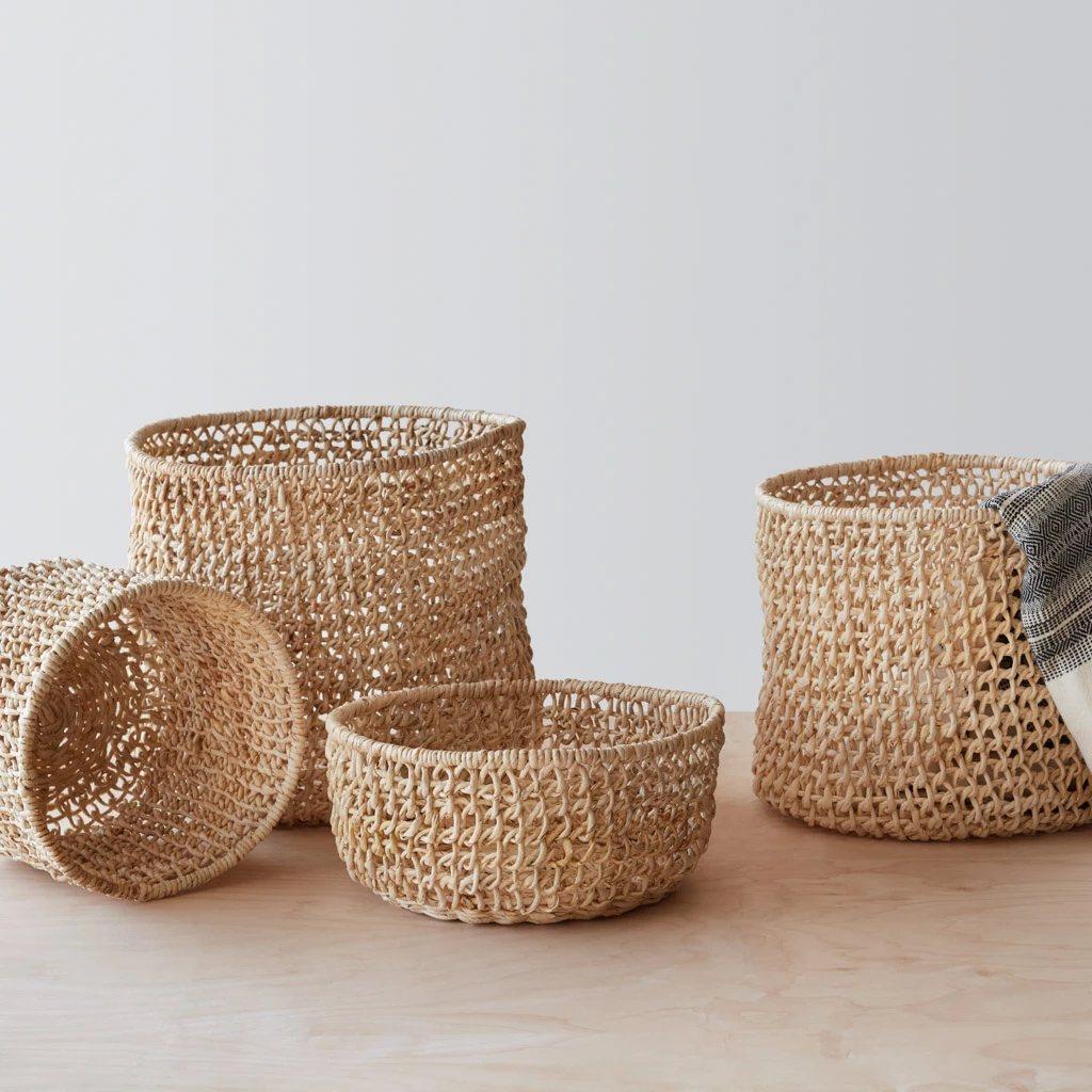 Opaka Storage Baskets.