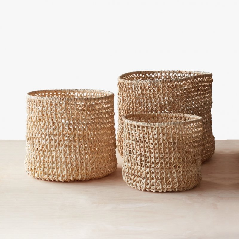 Opaka Storage Baskets, Set of 3