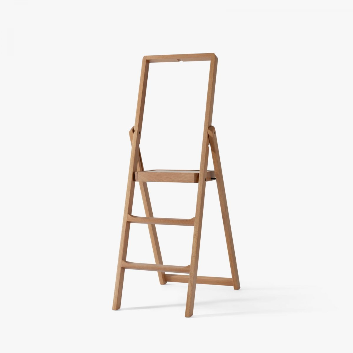 Step Stepladder, oak.