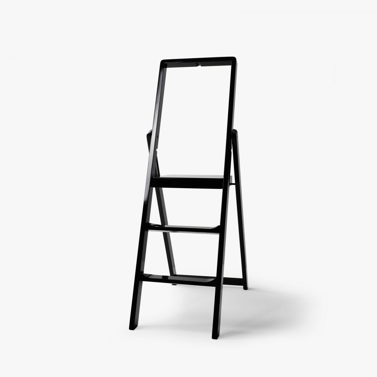 Step Stepladder, black.