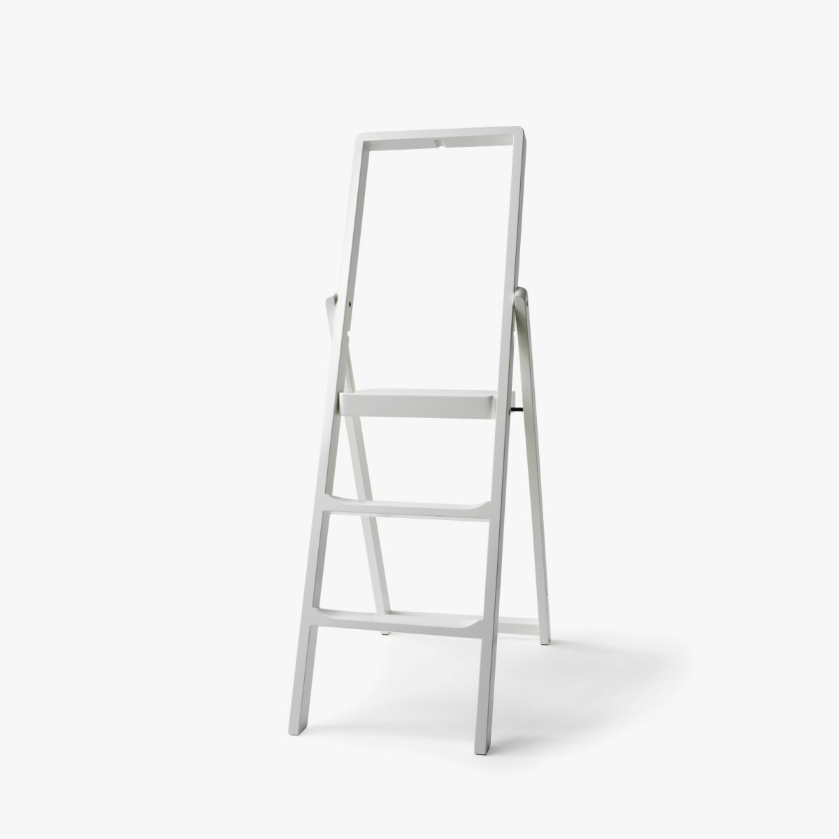Step Stepladder, white.