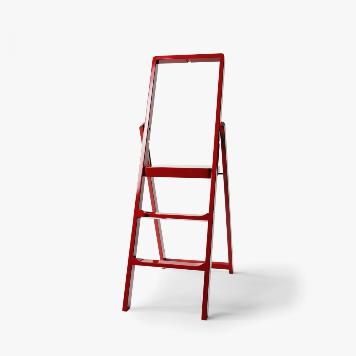 Step Stepladder, red.
