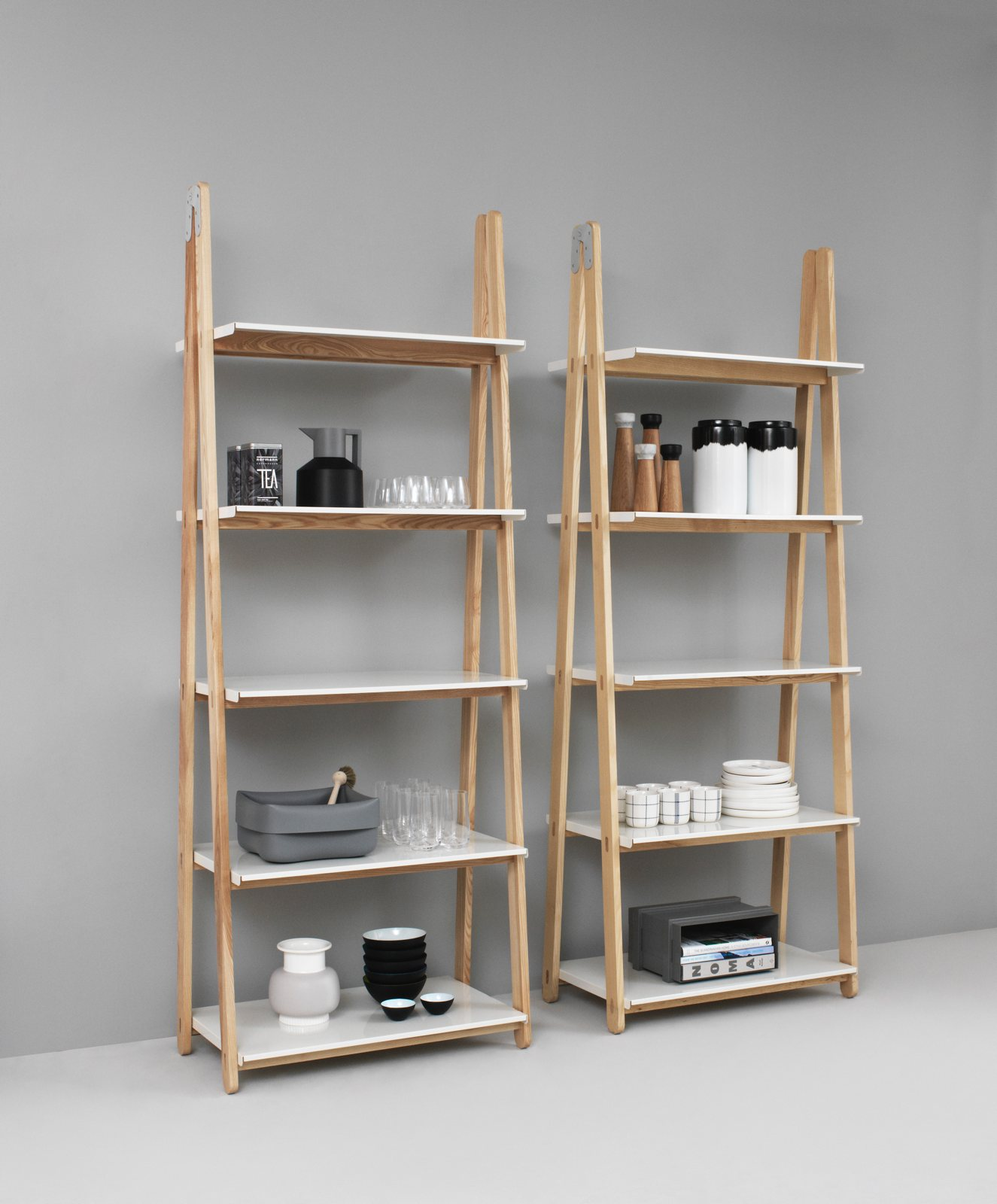 One Step Up Bookcase High By Unit 10 Design For Normann