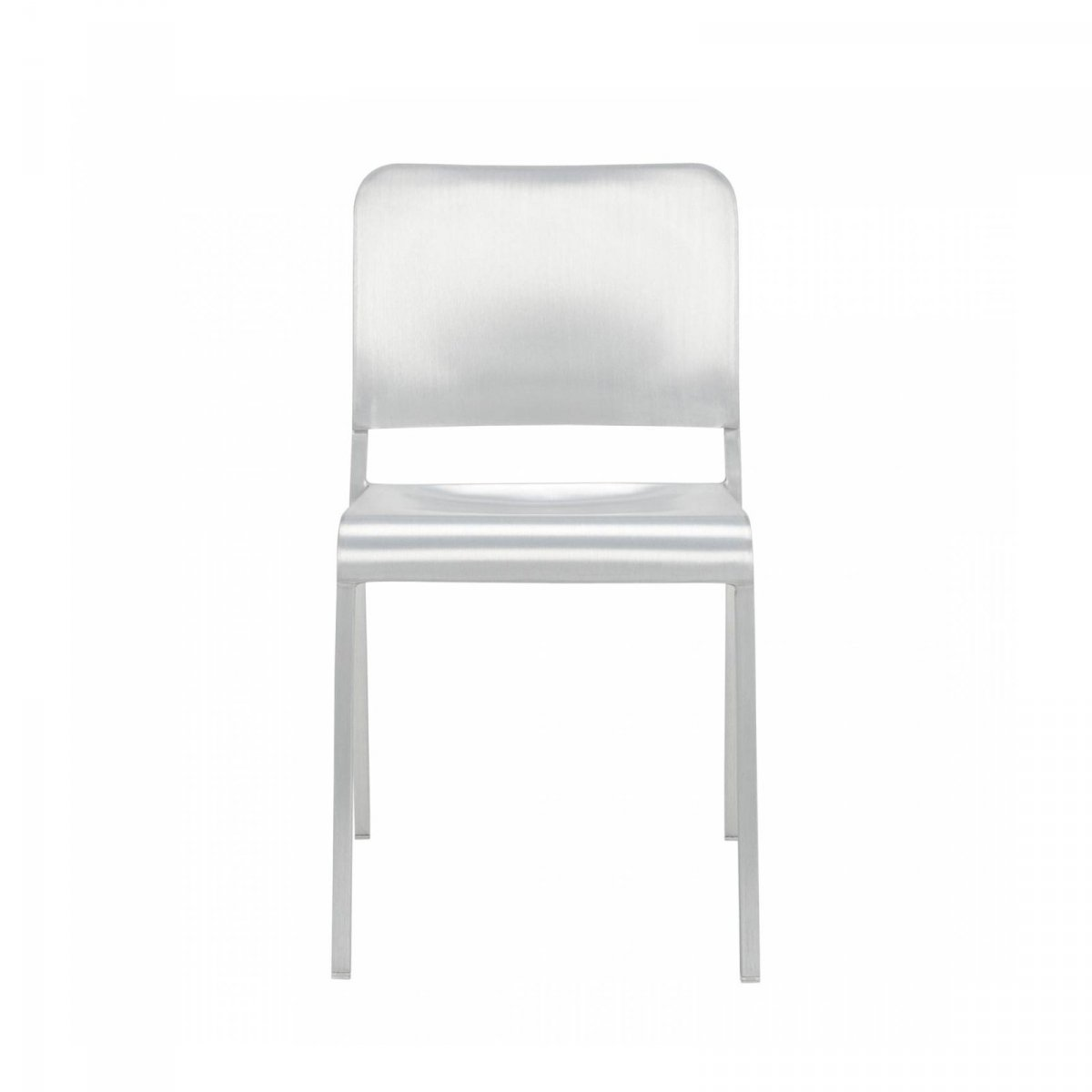 20-06 Stacking Chair, front view.