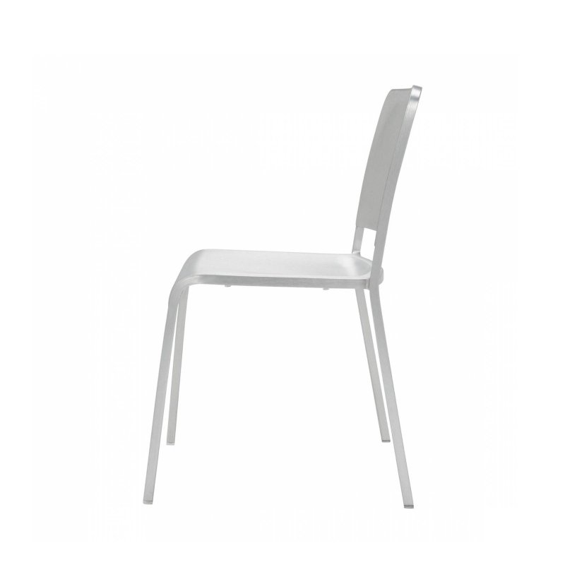 20-06 Stacking Chair, side view.