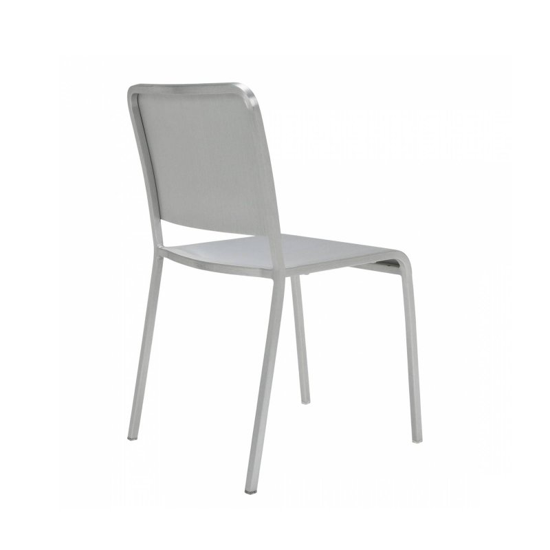 20-06 Stacking Chair, back view.