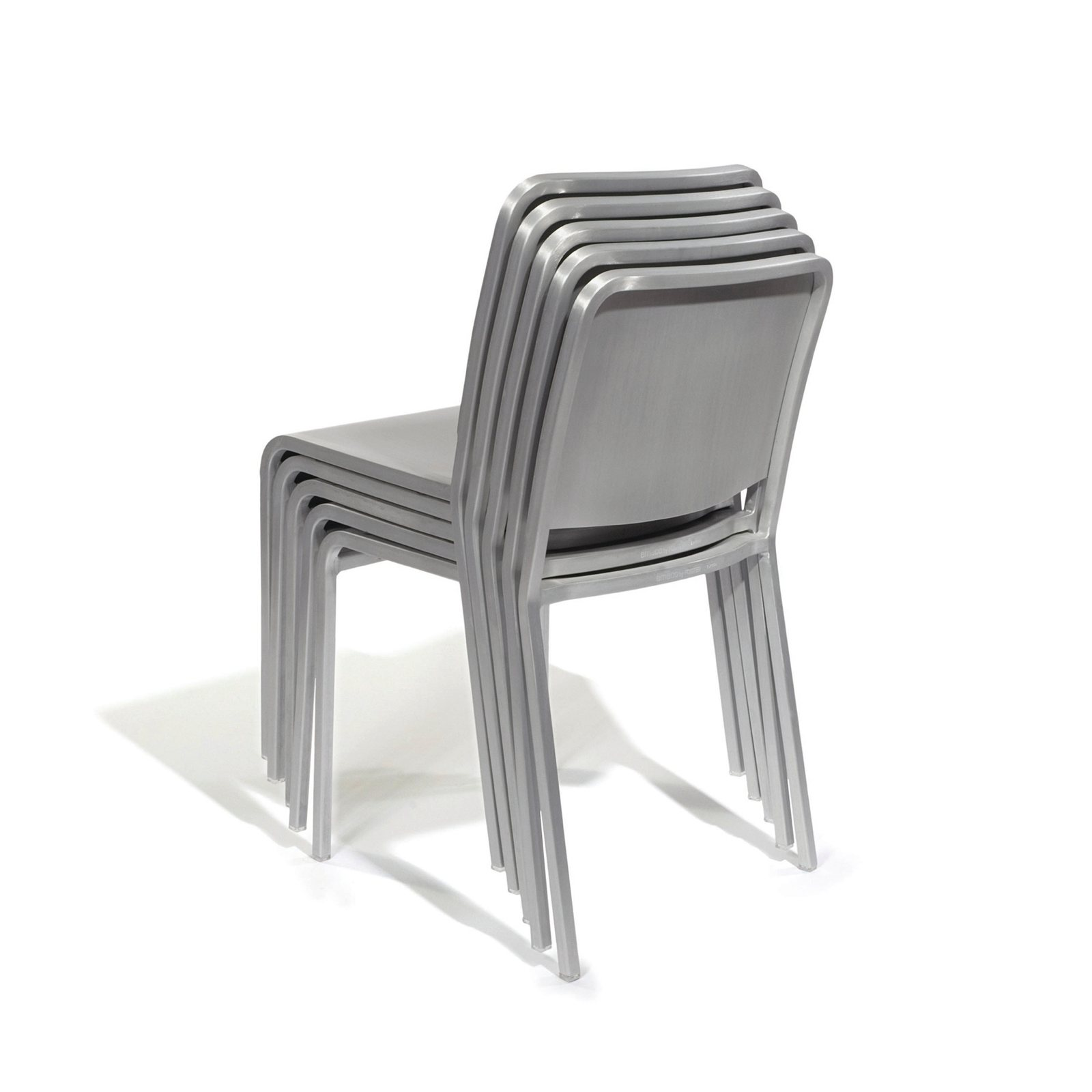 chair folding profile aluminium and stacking uk gold from chairs blue tables