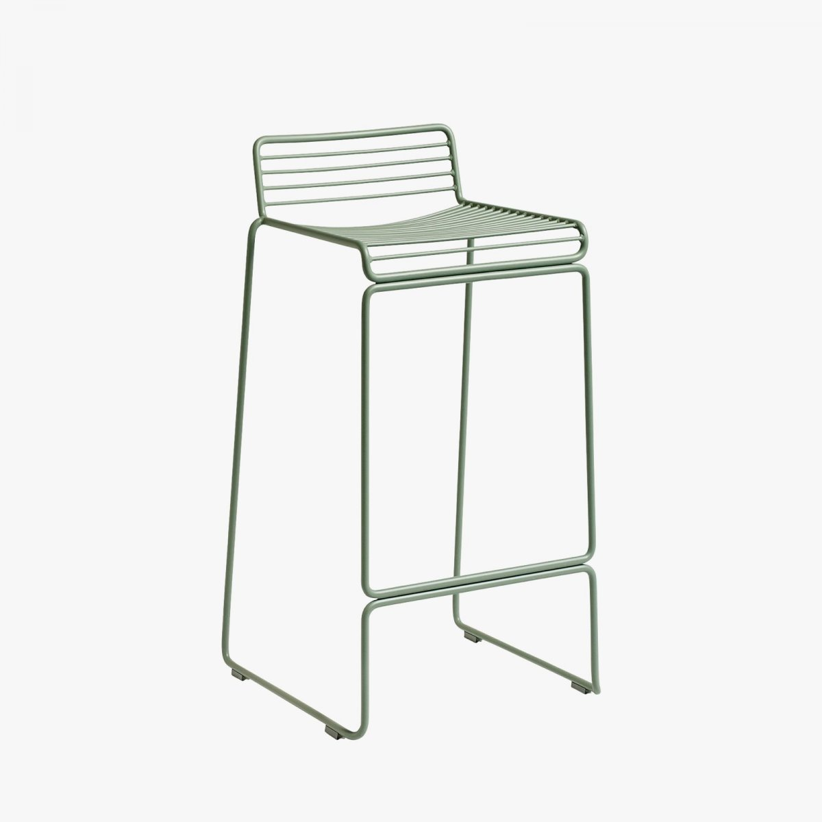 Hee Bar Stool, high, fall green.