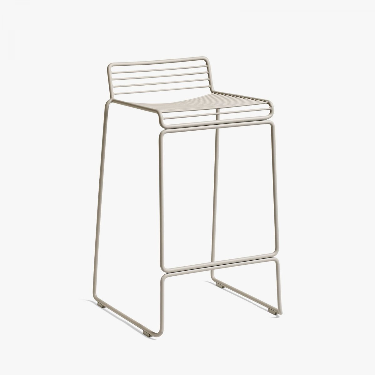 Hee Bar Stool, high, beige.