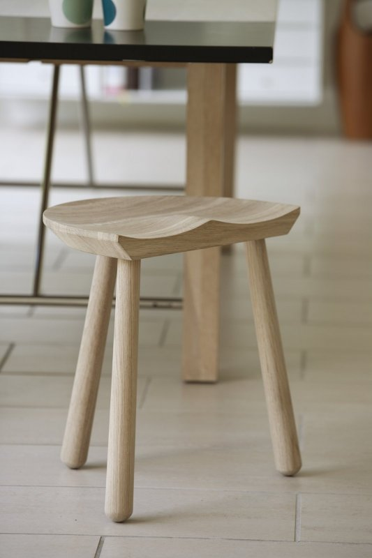 Cobbler Stool, oak.