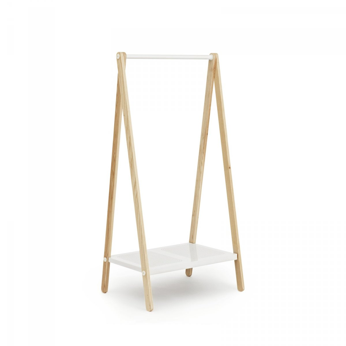 Toj Clothes Rack Small, white.