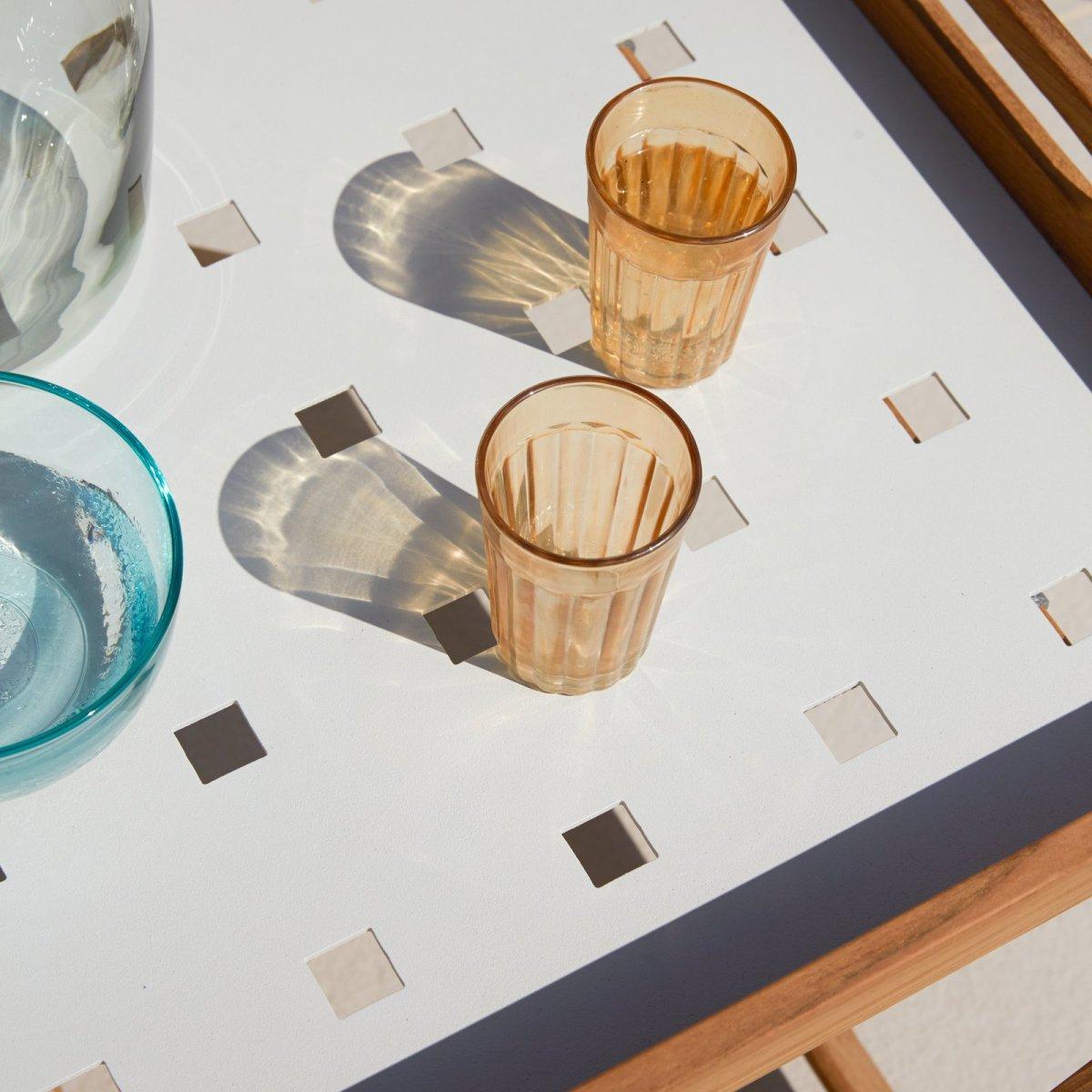 Amaze Folding Side Table, detail.