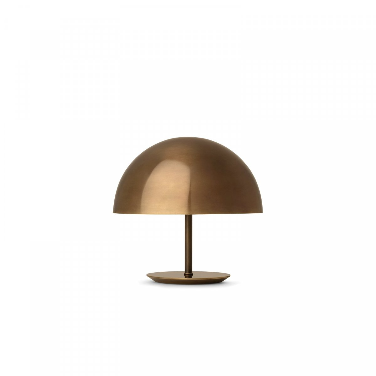 Baby Dome Lamp, brass.