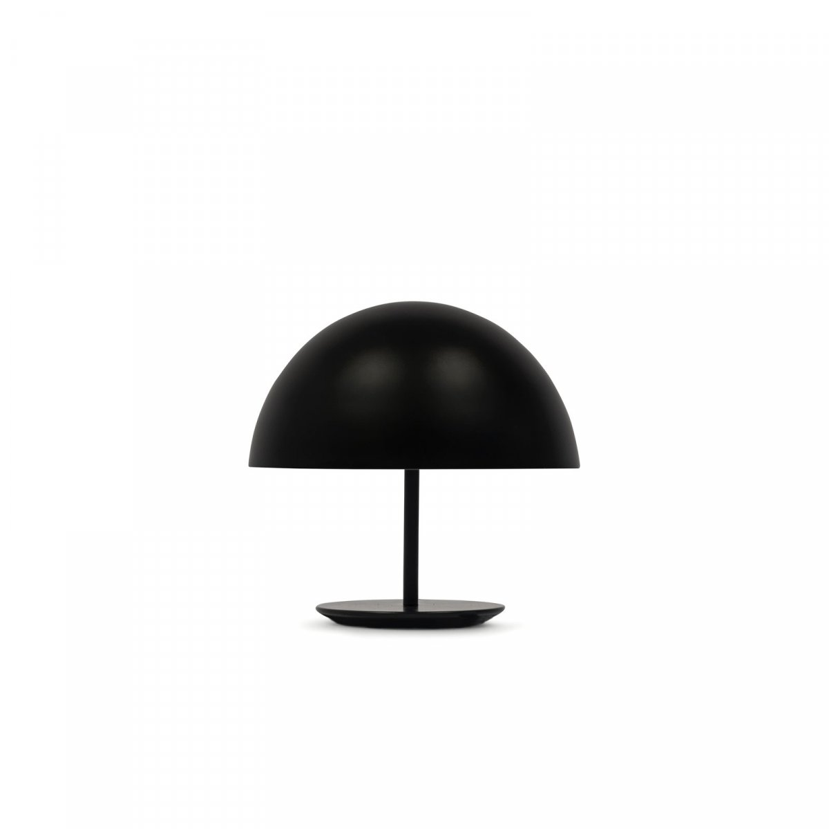 Baby Dome Lamp, black.
