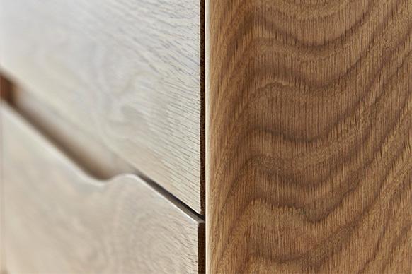 Romana Small Sideboard, detail.