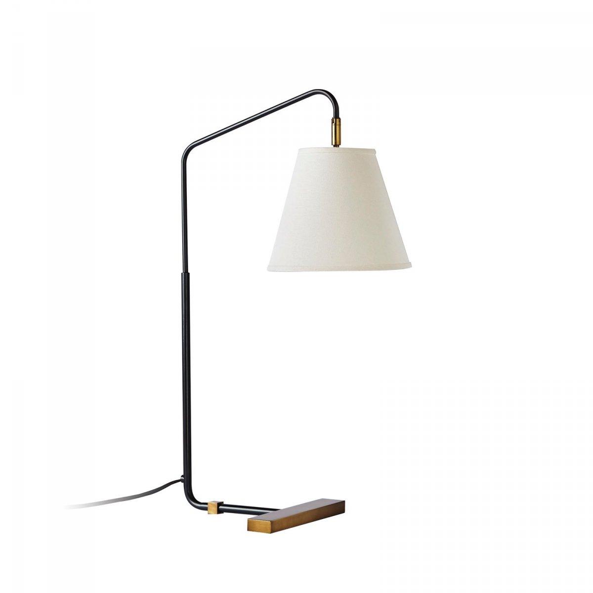 Flynn Table Lamp, black.