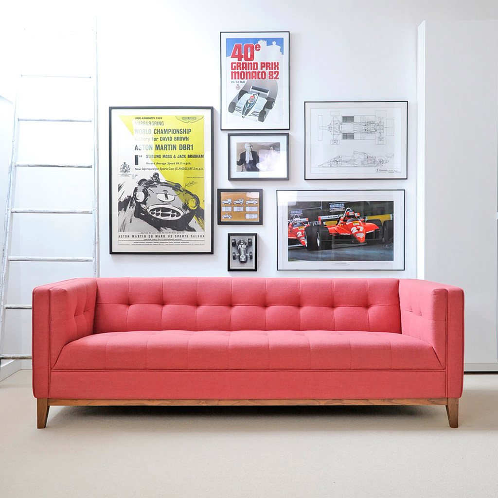 Atwood Sofa, Berkeley Coral.