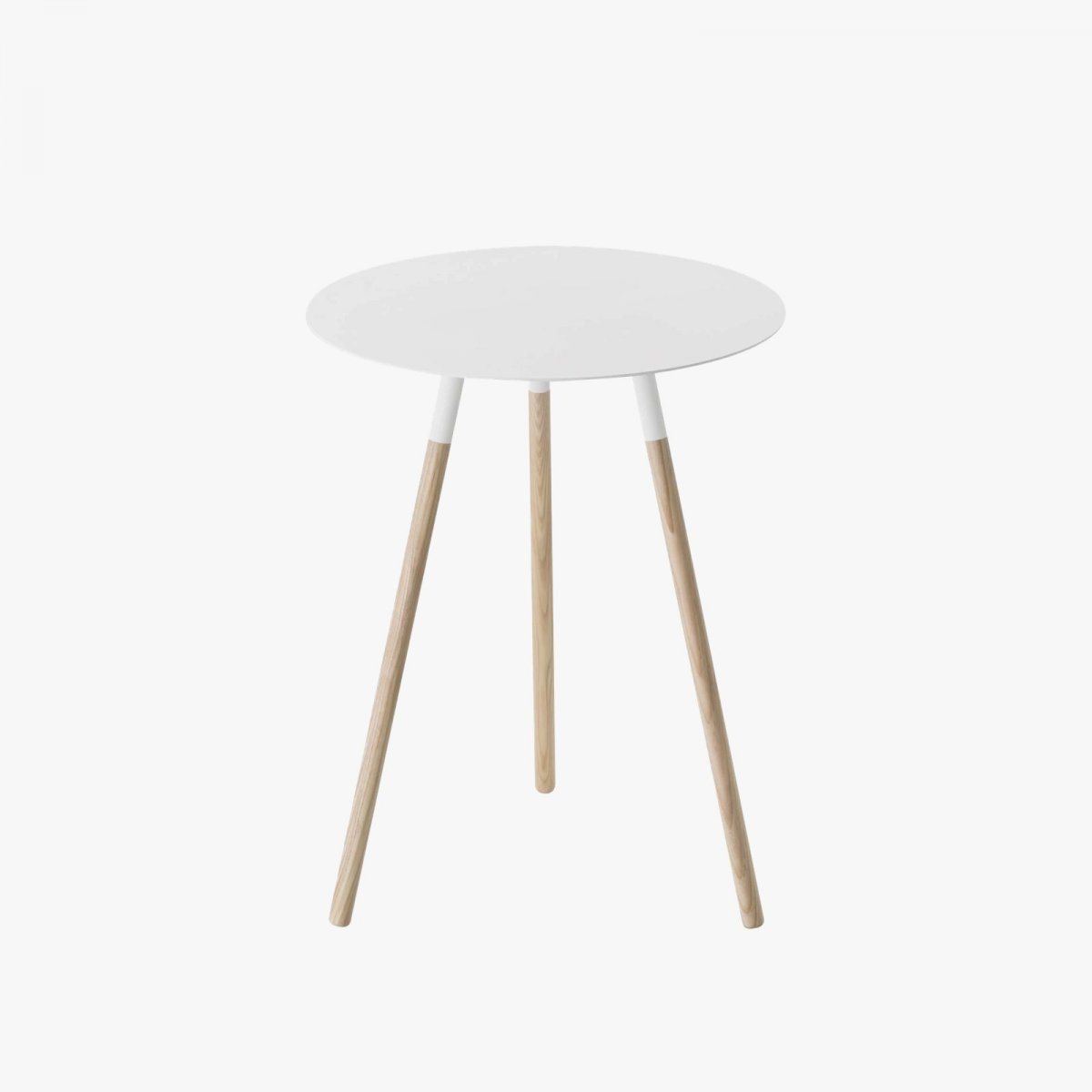 Plain Side Table, white.