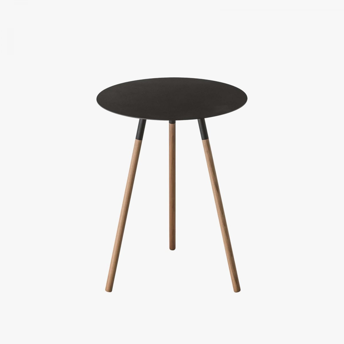 Plain Side Table, black.