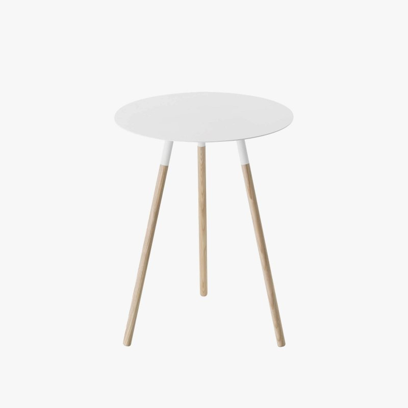 Plain Small Round End Table
