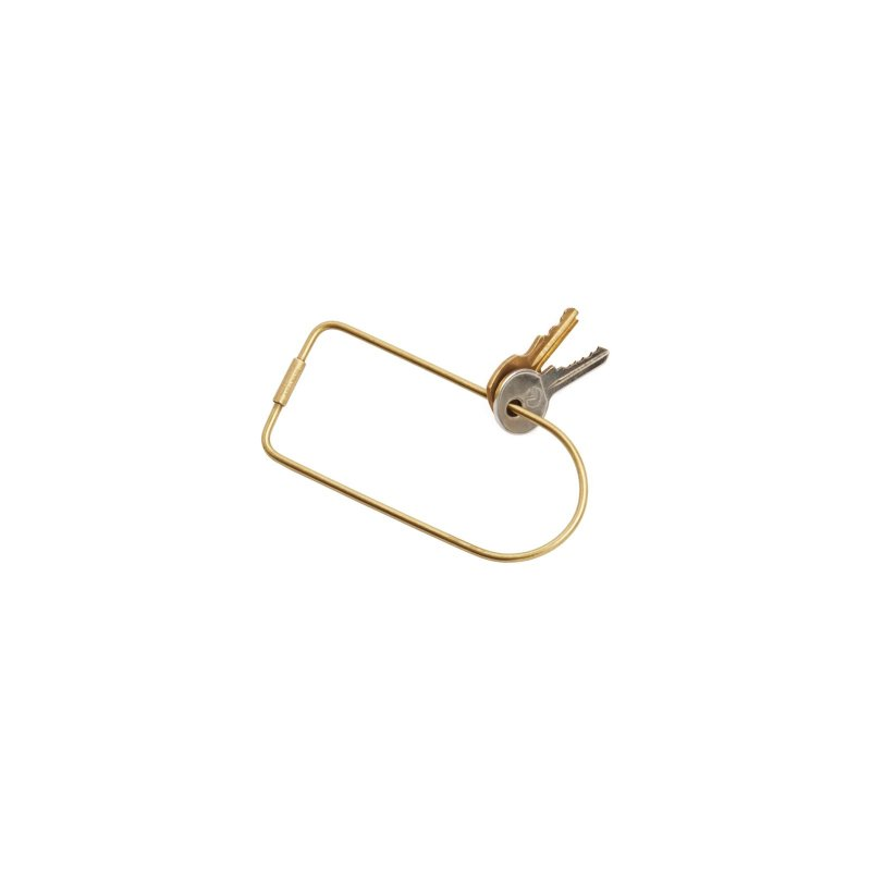 Contour Key Ring, Bend