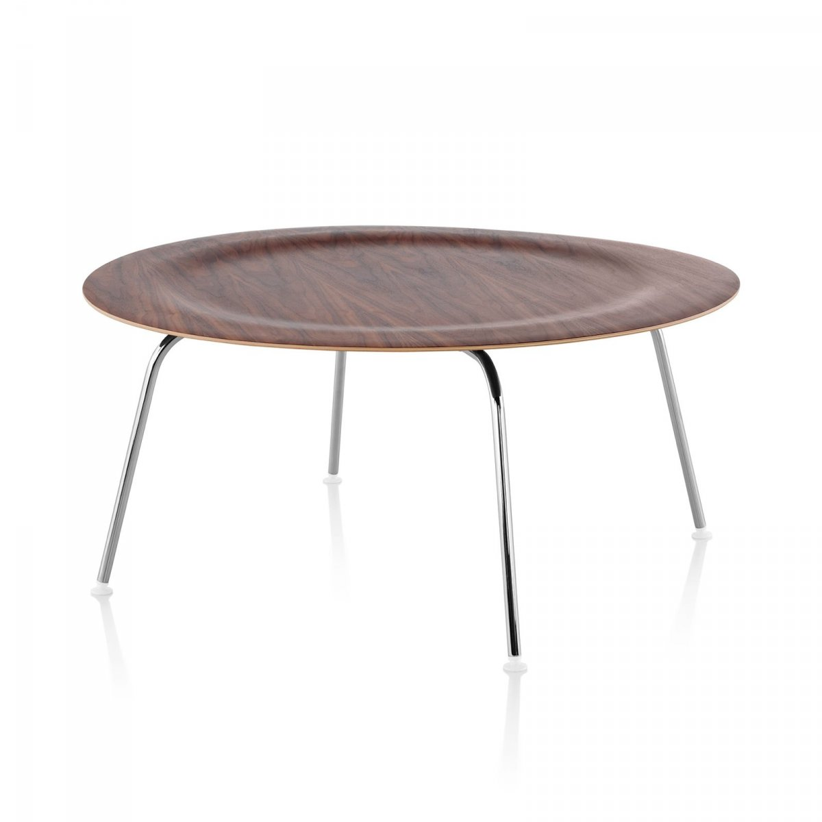 Eames Molded Plywood Coffee Table Metal Base By Charles Ray Eames For Herman Miller Up Interiors