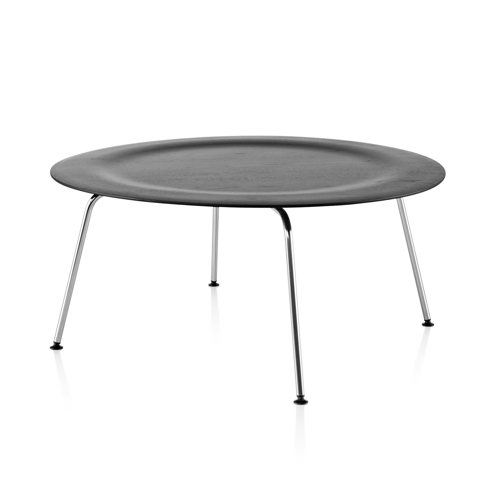 eames molded plywood coffee table metal basecharles & ray