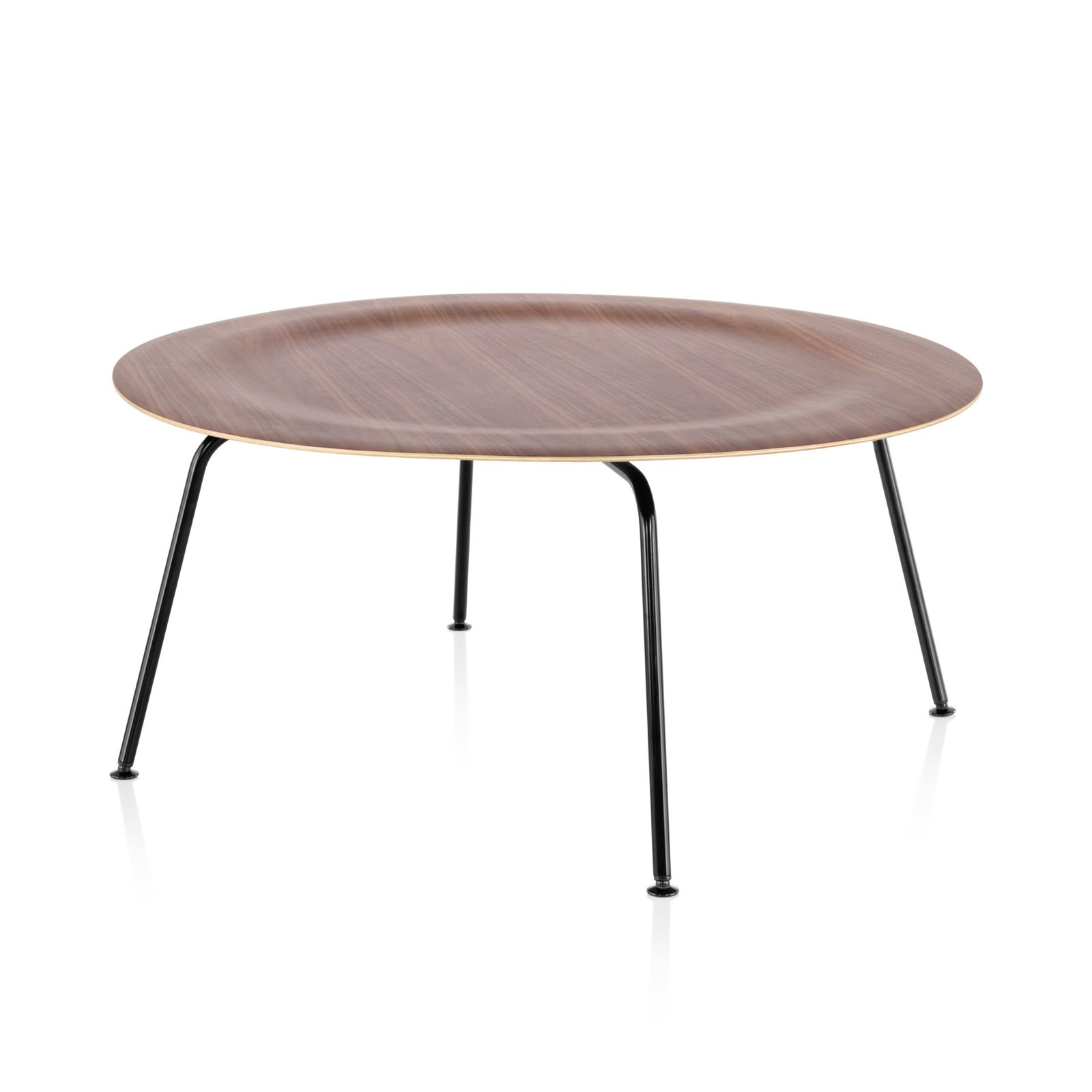 eames molded plywood coffee table metal base by charles ray eames for herman miller up interiors. Black Bedroom Furniture Sets. Home Design Ideas