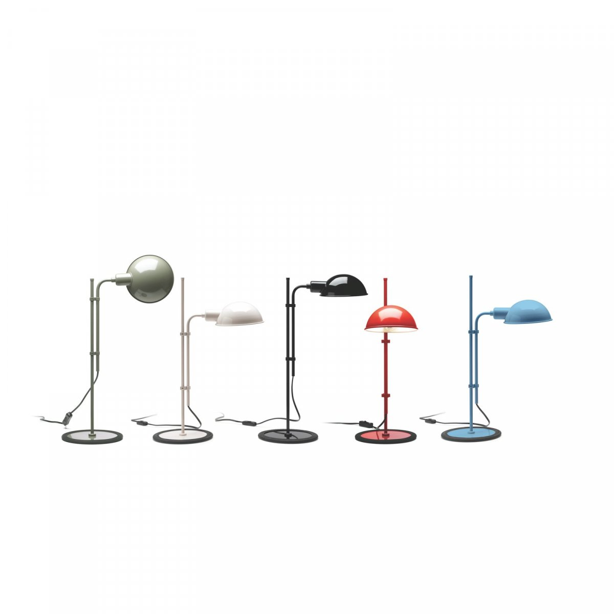 Funiculí S table lamps.