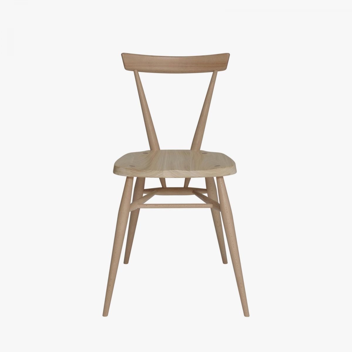 Originals Stacking Chair, front view.
