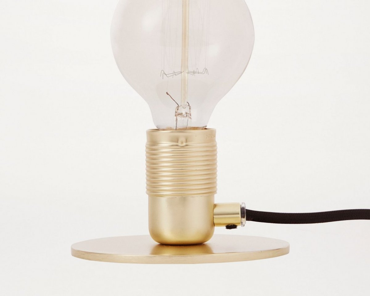 Frama E27 Table Light, brass.