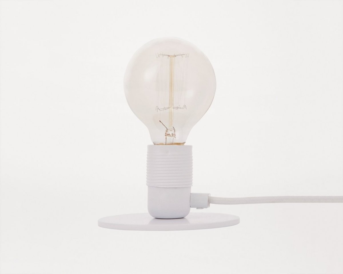 Frama E27 Table Light, white.