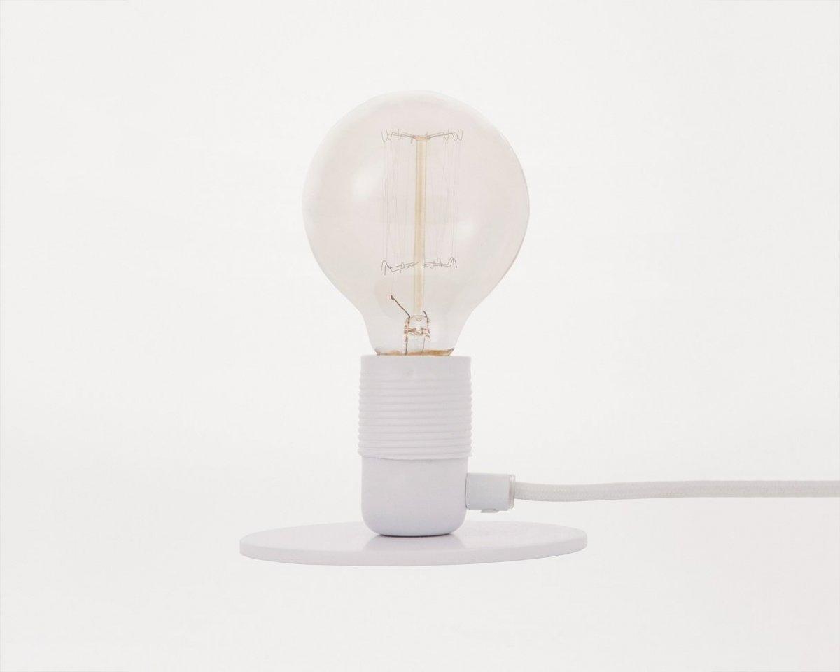 Frama E27 Table Light, white.