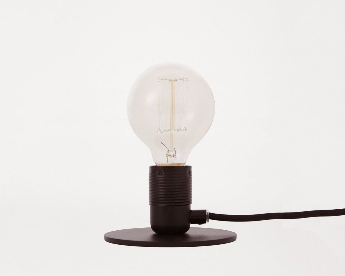 Frama E27 Table Light, black.
