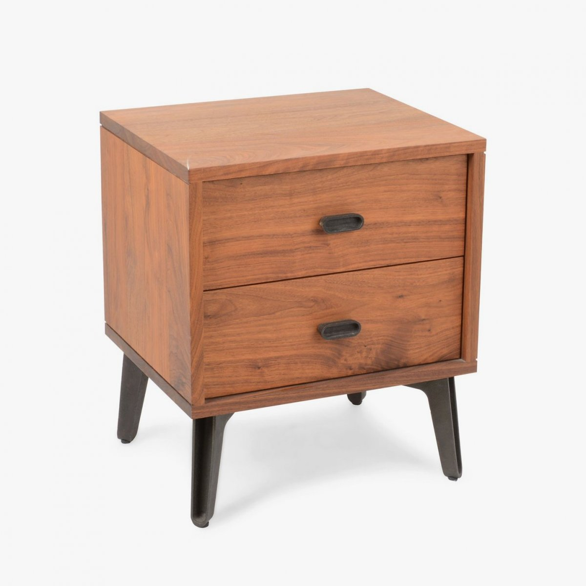 379 Mcqueen Bedside Chest, walnut.