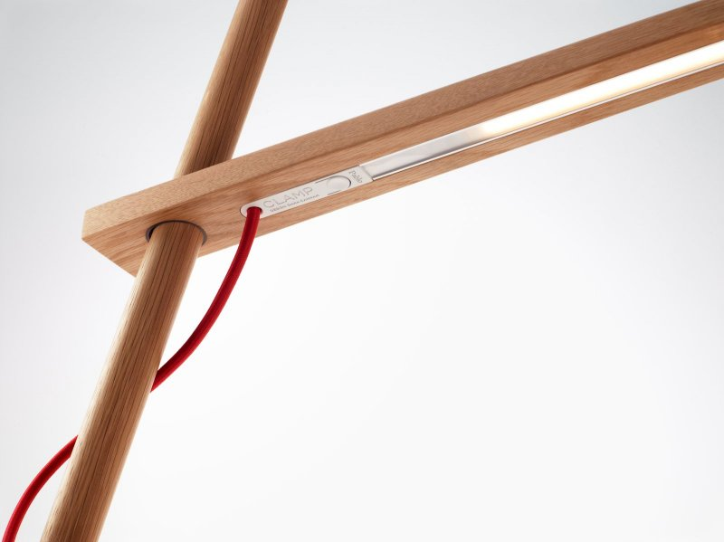 Clamp Floor Lamp, detail.