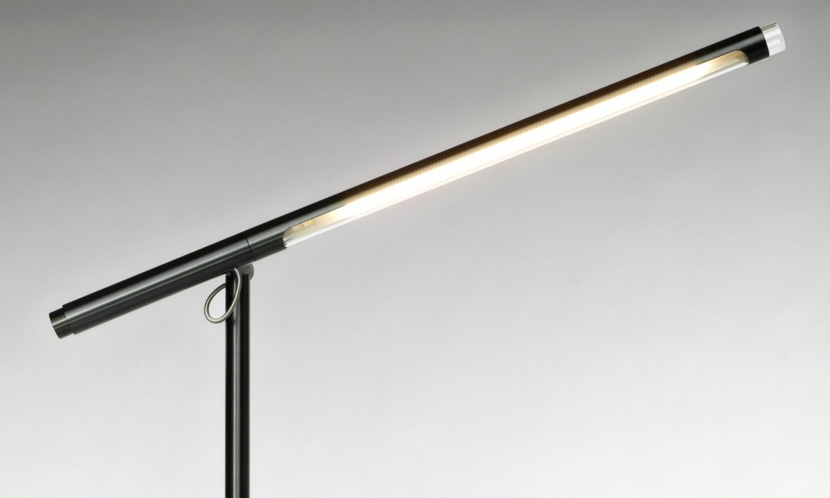 Brazo Floor lamp, black.