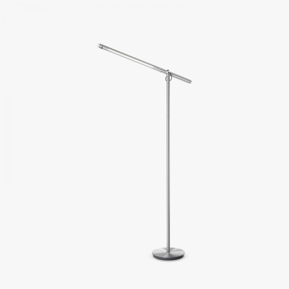 Brazo Floor lamp, silver.