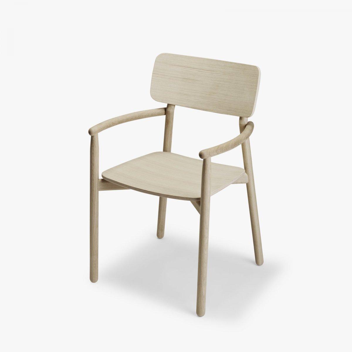 Hven Armchair, oak.