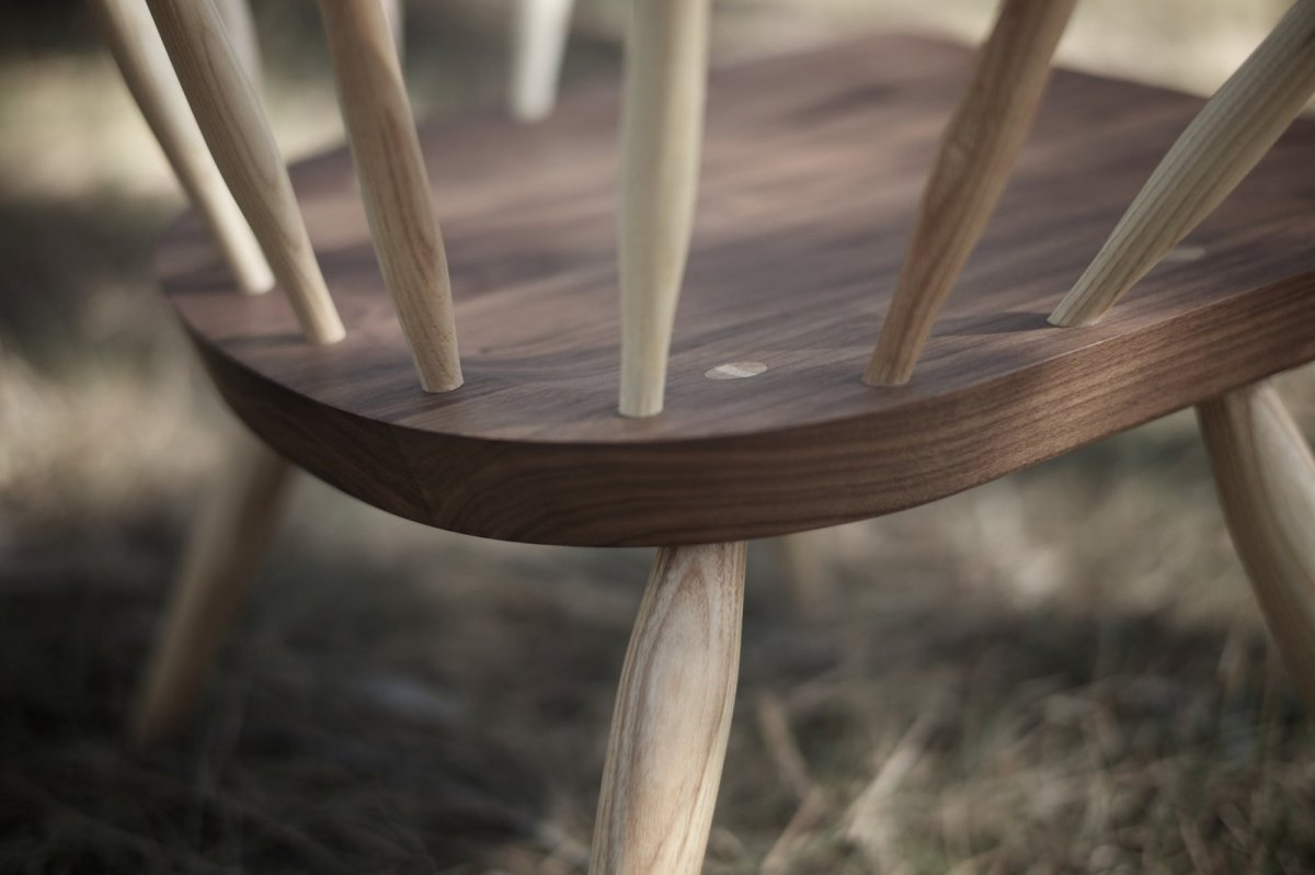 360 Burnham Windsor Chair, detail.