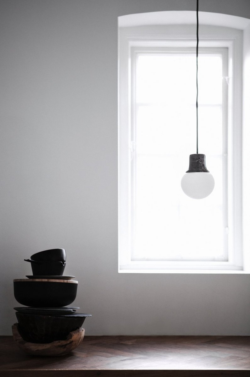 Mass Light Pendant NA5, marble.