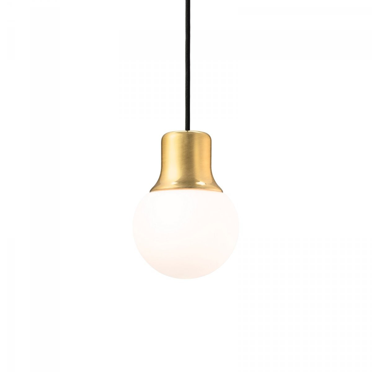 Mass Light Pendant NA5, brass.