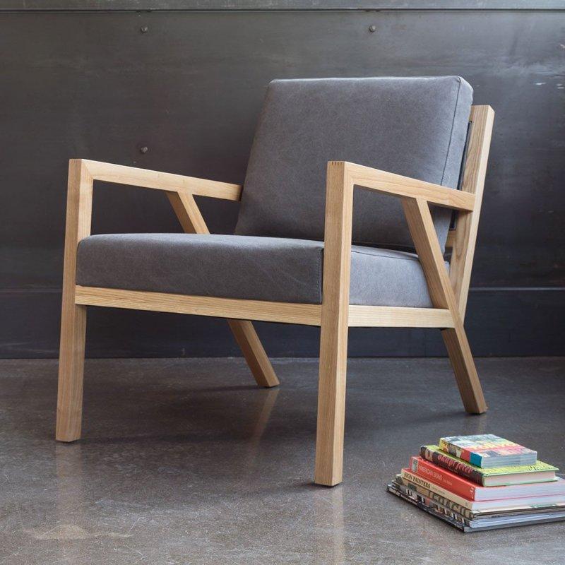 Truss Chair, Vintage Smoke.