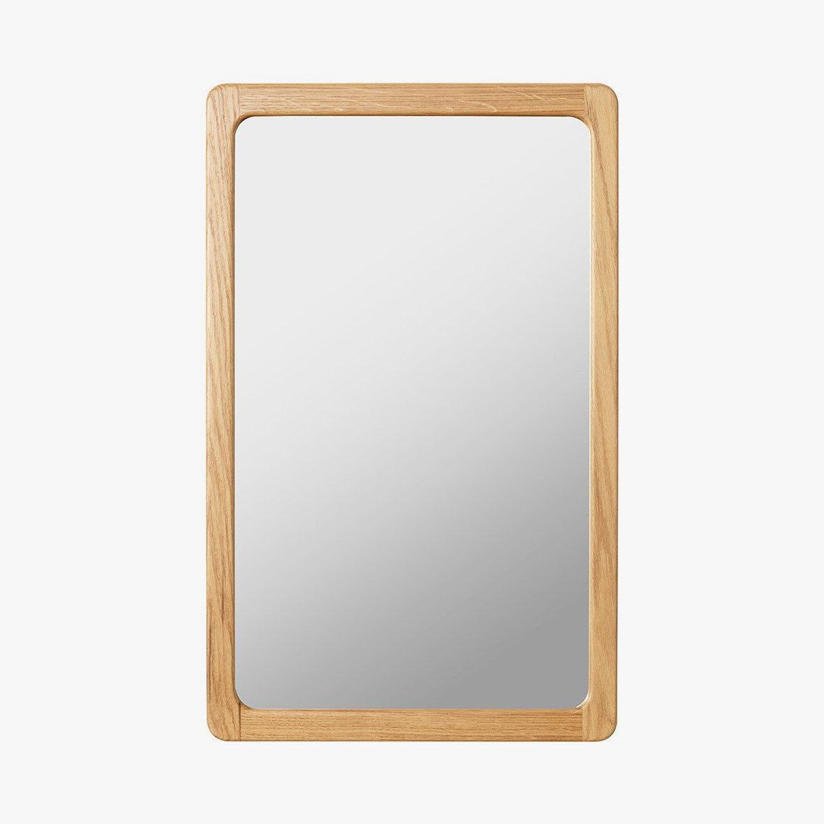 Agnes Mirror small, oak.