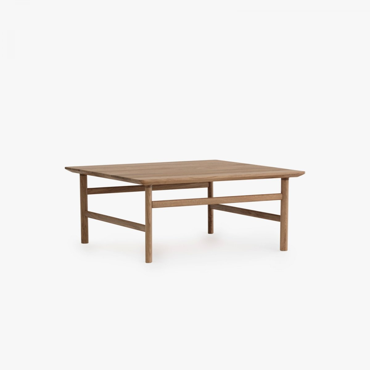 Grow Coffee Table, medium oak.