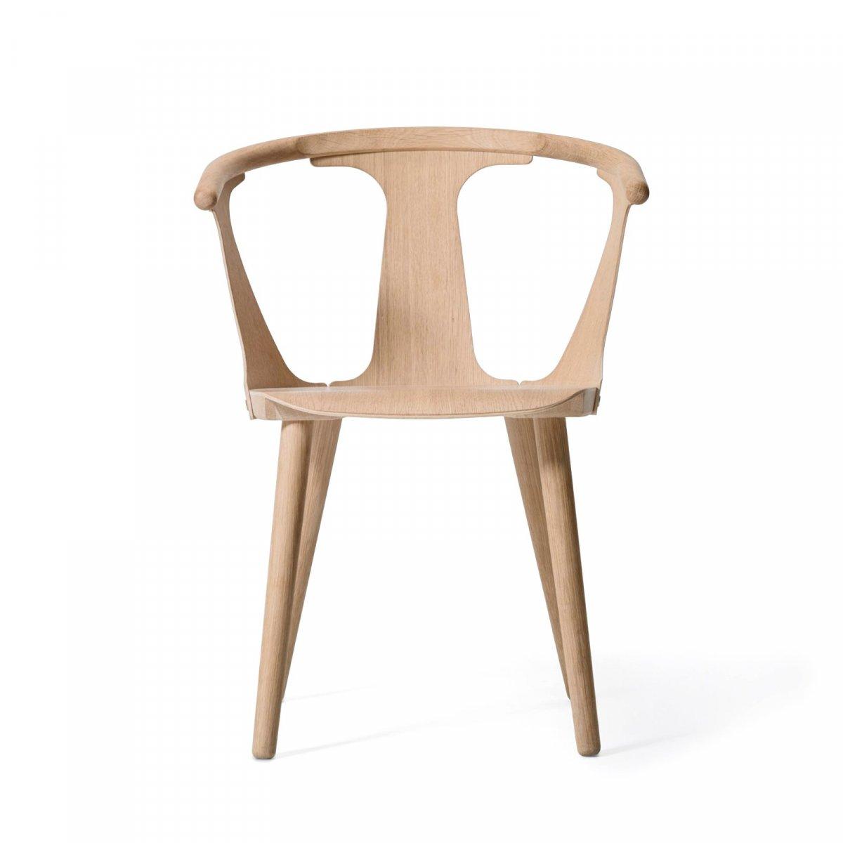In Between Chair SK1, white oiled oak.