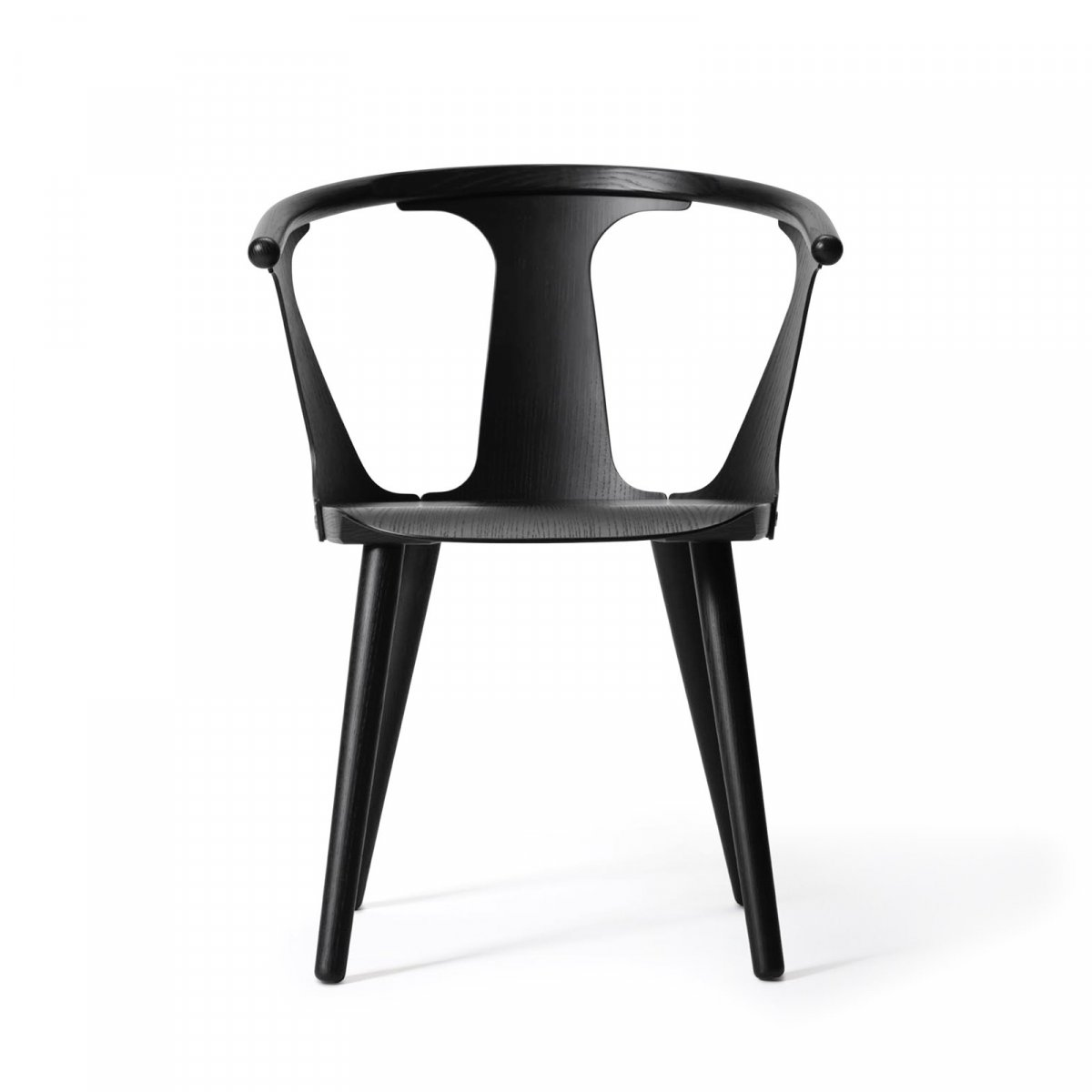 In Between Chair SK1, black stained ash.