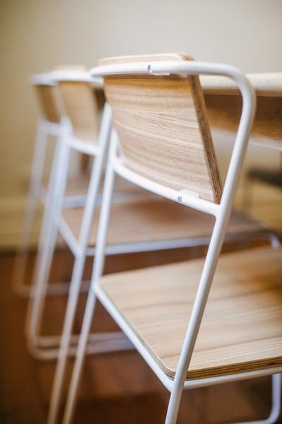 Transit G8 Stacking Chair By M A D Furniture Design Up