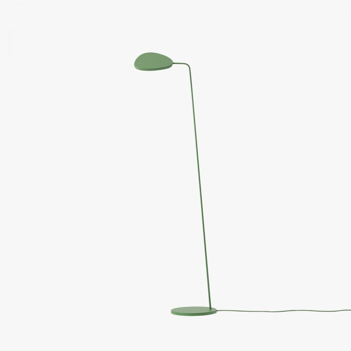 Leaf Floor Lamp, green.