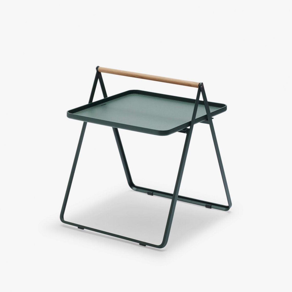 Skagerak By Your Side Table, hunter green.